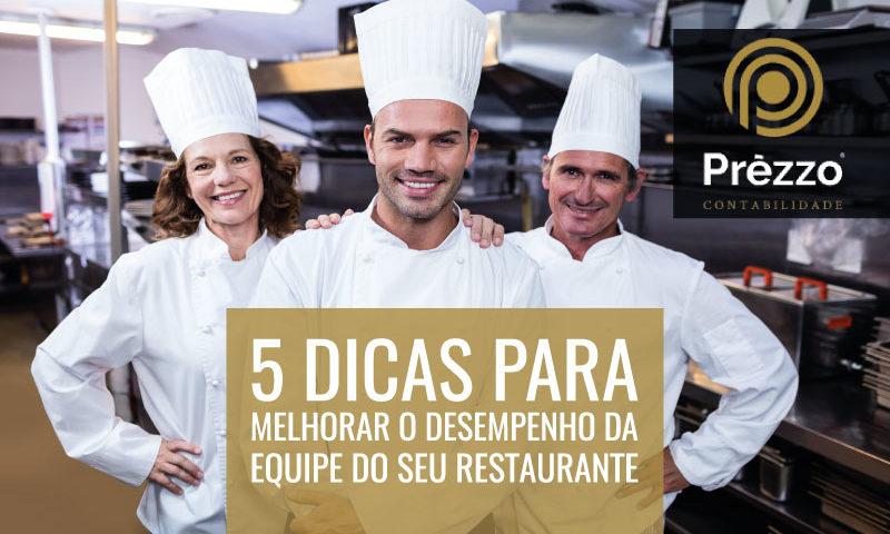 equipe do seu restaurante