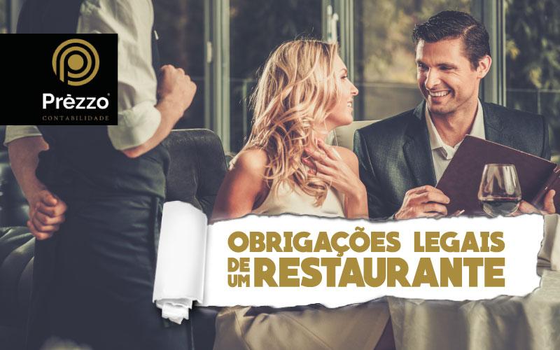 obrigações legais de um restaurante