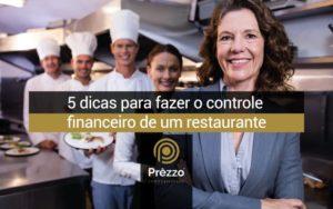 controle financeiro de um restaurante