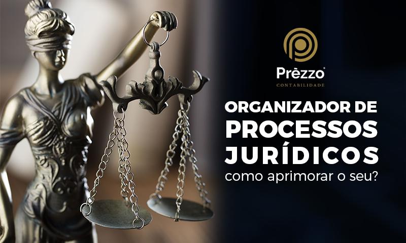 Organizador de Processos Jurídicos